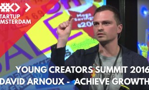 How to Achieve Growth as a Startup – David Arnoux on Growth Hacking – Young Creators Summit 2016