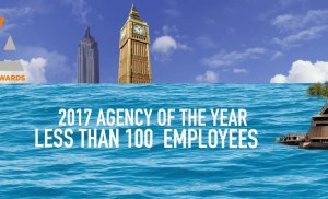 2017 Content Marketing Awards- Agency of the Year (Less than 100 employees)