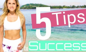 5 Tips on How To Be Successful & Get Motivated | Rebecca Louise