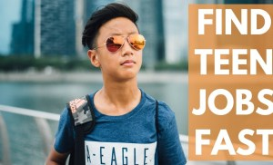 Find Jobs For Teens In 60 Seconds