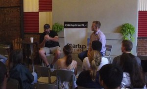 Matt Thompson (For The Table Hospitality) at Startup Grind Tallahassee