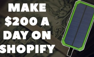 How To Make $200 A Day On Shopify Without High Facebook Cost