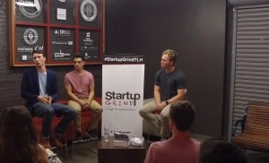 Mitch Nelson & Jason McIntosh (DivvyUp Socks) at Startup Grind Tallahassee
