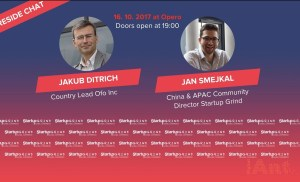 Startup Grind Prague hosts Jakub Ditrich, Country Lead Ofo
