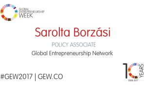Sarolta: What Does GEW Mean to You?