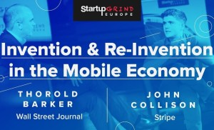 Invention and Reinvention in the Mobile Economy at SG Europe with John Collison & Thorold Barker