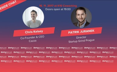 Startup Grind Prague hosts Chris Kelsey, Co-Founder & CEO CAZZA