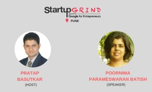 Startup Grind Pune hosts Poornima Parameswaran Batish Founder @ womanatwork.in