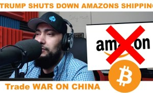 ATTACK On eCommerce Business Model | TRUMP SHUTS DOWN AMAZON SHIPPING SERVICE | Bitcoin Banking