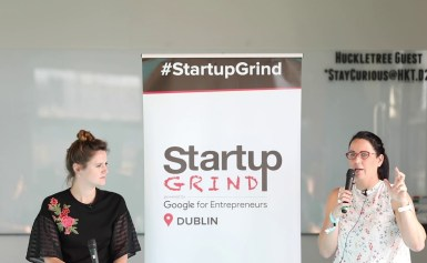 Niamh Given, (Chief Growth Officer, Nest.vc) at Startup Grind Dublin