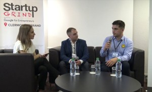 Startup Grind Clermont-Ferrand : Allan Kinic (CEO Agence Kinic) ans Anthony Da Costa (Old Grump)