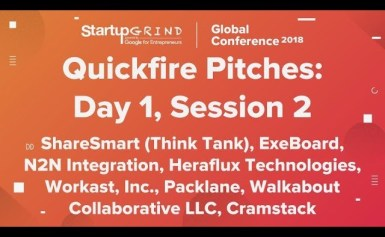 Quickfire Pitches | Day 1, Session 2