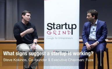 Steve Kokinos (Fuze) – Is A Startup Working | Startup Grind New Haven