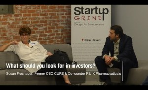 Susan Froshauer – What Should You Look For In Investors? (co-founder Rib-X Pharma now Melinta)