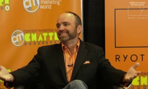 #CMWorld Chatter – Joe Pulizzi