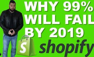 Shopify Is DEAD By 2019 // The REAL Reason 99% OF People FAIL On SHOPIFY  (MUST WATCH)