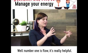 Attention introverts:  Manage your energy