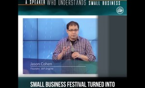 A speaker who understands small business