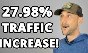 Big Traffic Increase & Website Stats Revealed!  Where Did This Traffic Boost Come From?