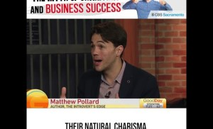 Relying on your charisma to grow your business?