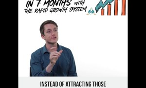 Alex tripled his revenue in 7 months with the Rapid Growth System
