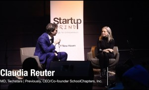 Claudia Reuter (Startup Grind New Haven) -­ Entrepreneurship and Accelerators