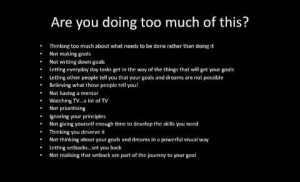 15 reasons why you are not successful