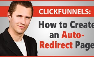 ClickFunnels: How to Create an Auto-Redirect Page (Using Meta Redirect)