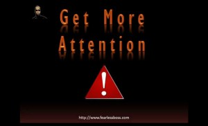 Get More Attention And Attract More Success