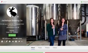 Google My Business Stories: Jackalope Brewing Co