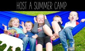 Host Your Own Summer Camp To Make Money- How To Make Money As A Kid