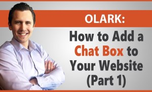 How to Add a Chat Now/Contact Box to Your Website (Olark – Part 1)