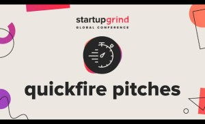 Startup Program Quickfire Pitches, Accelerate Startups | Startup Grind Global Conference 2019