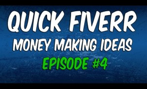 How To Make Money Online – STUPIDLY Easy Way To Make Some Cash | Fiverr EP #4