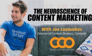 CCO April 2019 – The Neuroscience of Storytelling with Joe Lazauskas