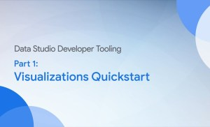 Community Visualizations: Developer Tooling Quickstart