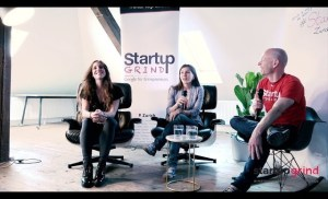 Female founders' month – Svetlana Baurens & Michela Puddu at Startup Grind Zurich, w/ David Butler