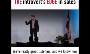 The introvert's edge in sales
