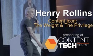 #ContentTECH 2019 – Henry Rollins – Content Icon: The Weight & The Privilege