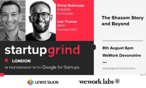 Startup Grind London The Shazam Story and Beyond