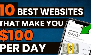 10 Websites To Make $100 PER DAY Working From Home In 2020