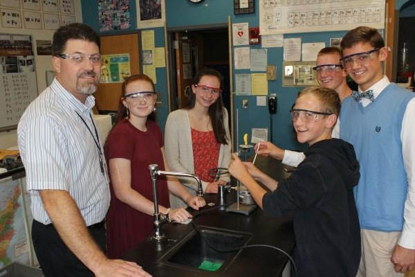 Penndale Science Teacher Matt Wendell Receives Exemplary