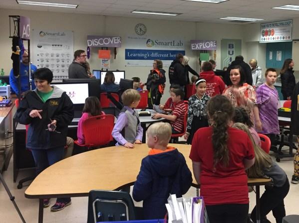 Grants Enable Stem Lab Woodland Elementary