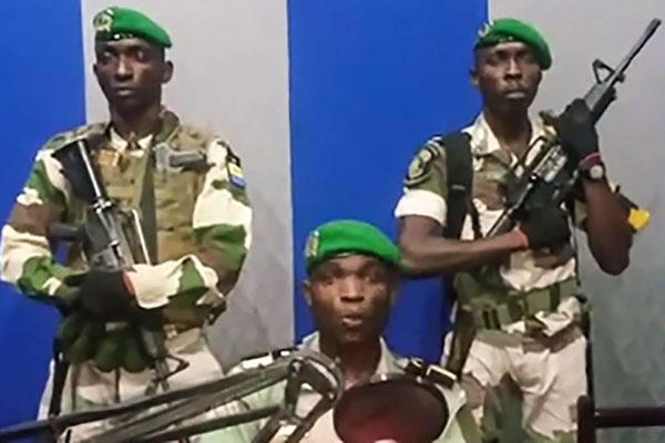Gabon Soldiers