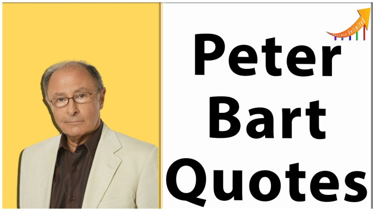 Peter Bart quotes