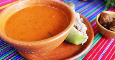 delicioso platillo de comida típica guatemalteca llamado pulique