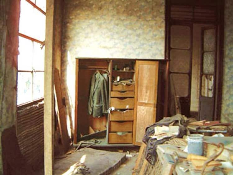 Un cuarto de Casa Matusita, la casa embrujada del Perú.