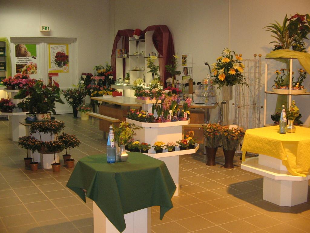 Blumenladen Einrichtung