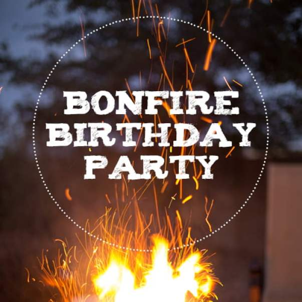Image result for birthday bonfire