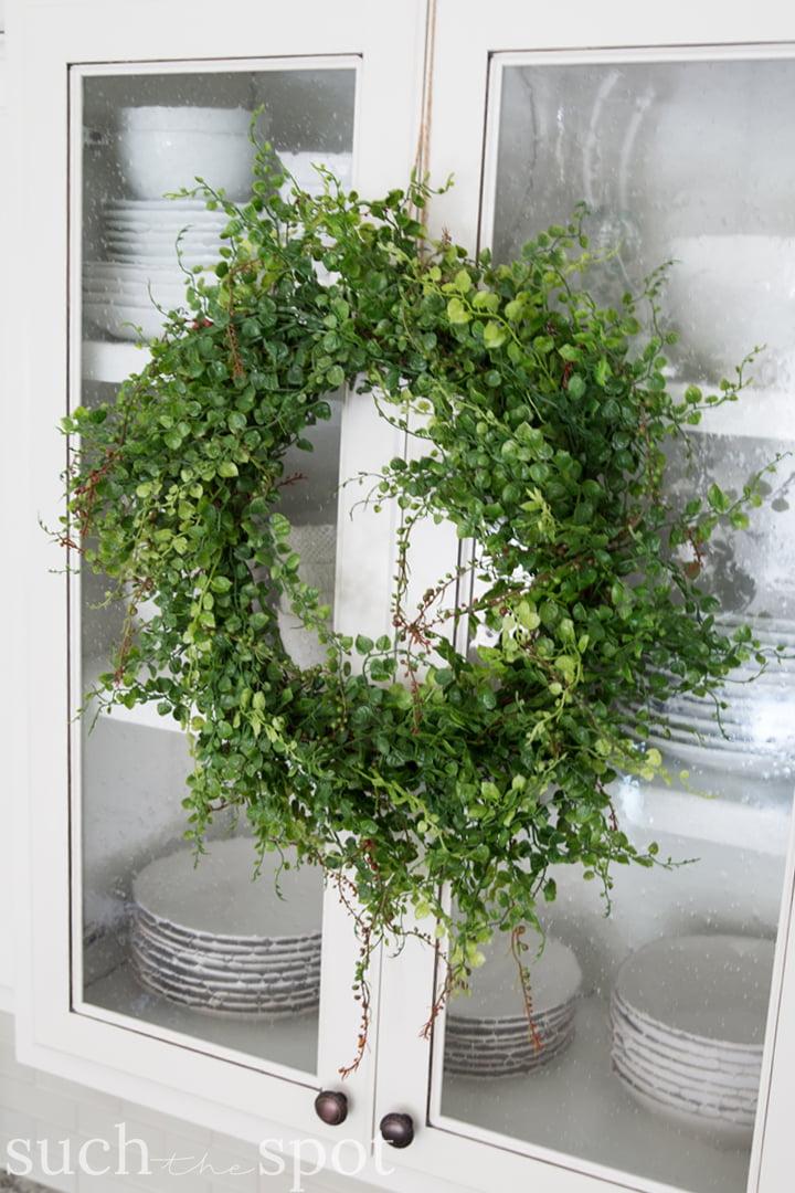 nook style kitchen table locking cabinets modern farmhouse spring home decor ideas | tour